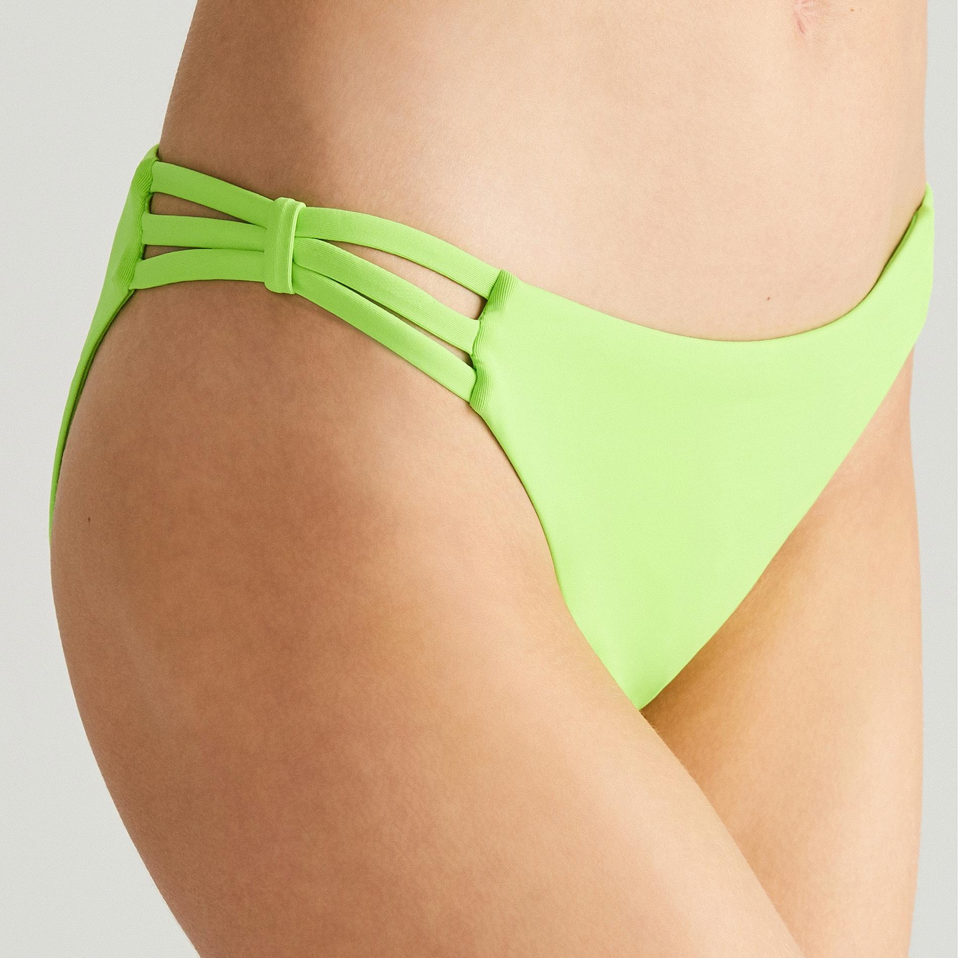 5e83ed397628c8 Reserved - Neonowy dół od bikini - Zielony Stroje kąpielowe ...
