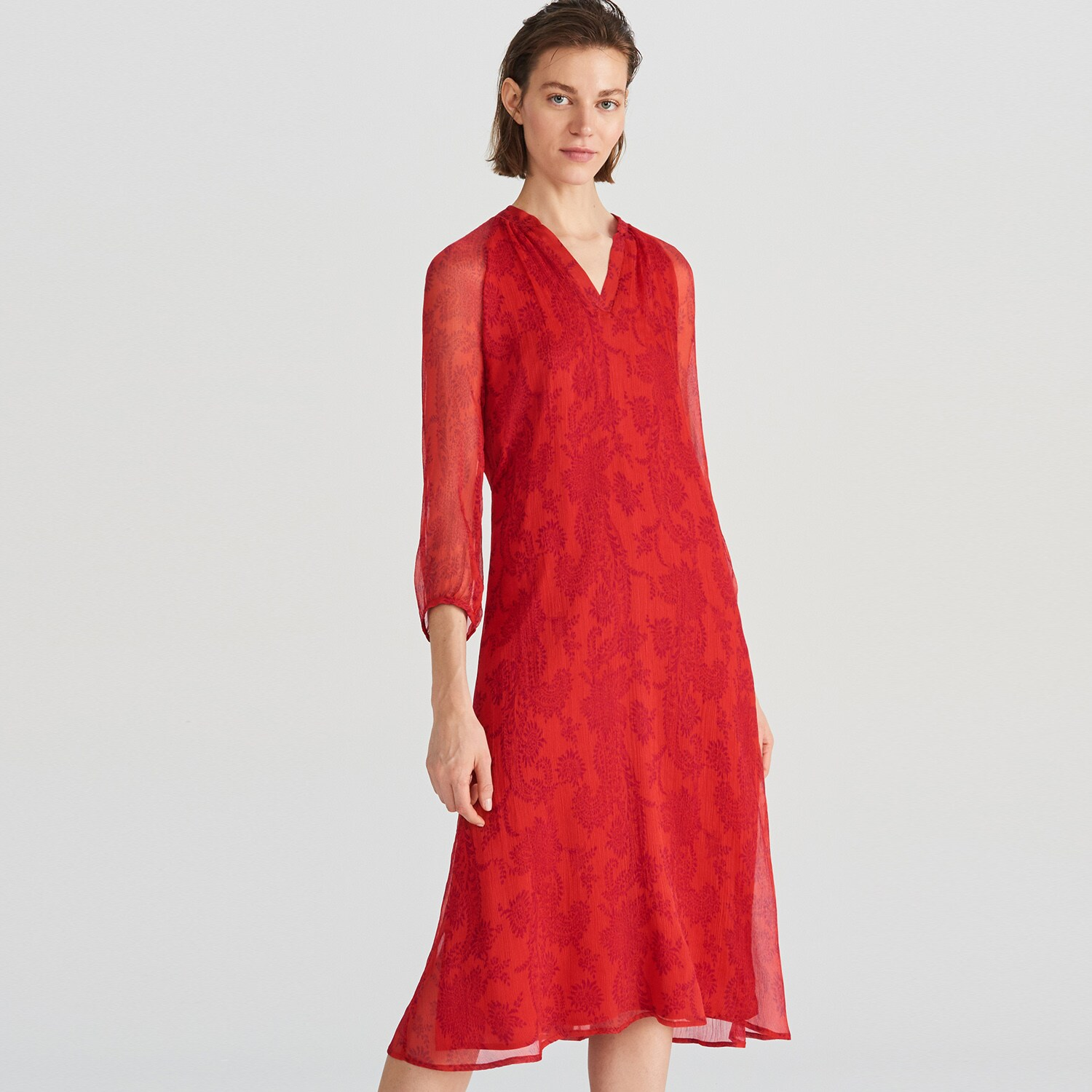 check out 156d4 890e5 Reserved - Reserved - Damen Kleid - Rot - Ceneo Deutschland