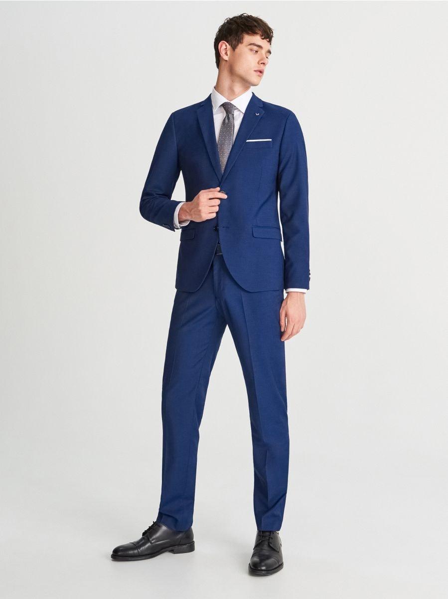 15483e9a7d Nakupujte online! Oblekové nohavice slim fit