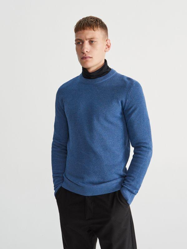 8af1e4e63a Sweter · Sweter - niebieski - UV870-55M - RESERVED