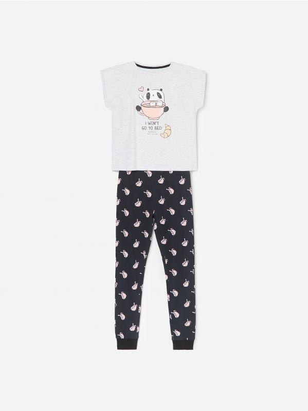 1e459464917763 Piżama Mickey Mouse · Piżama ze spodniami - szary - WF552-09M - RESERVED