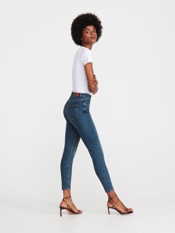 ba8da40632f82d Jeansy slim push up · Jeansy slim z wysokim stanem - niebieski - WG774-50J  - RESERVED