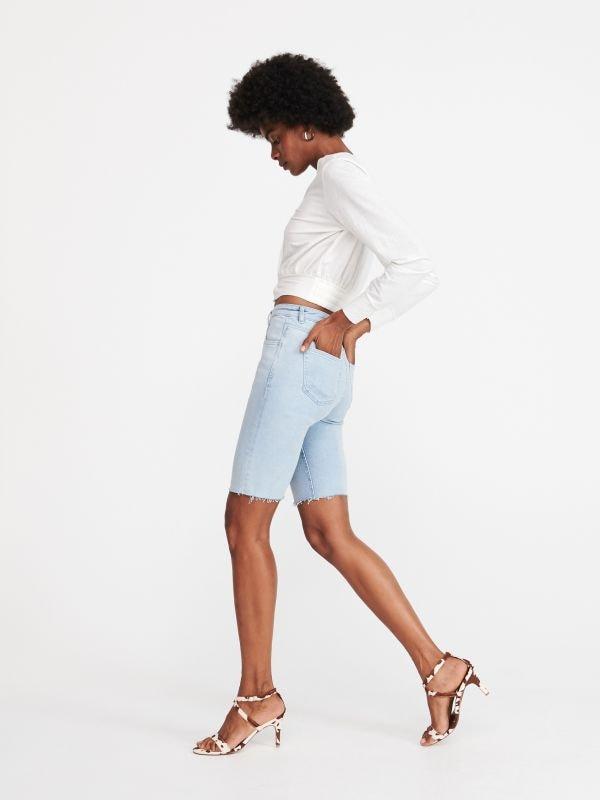f607ef33cef38e Spódnica z szortam · Jeansowe szorty - niebieski - WG783-05J - RESERVED