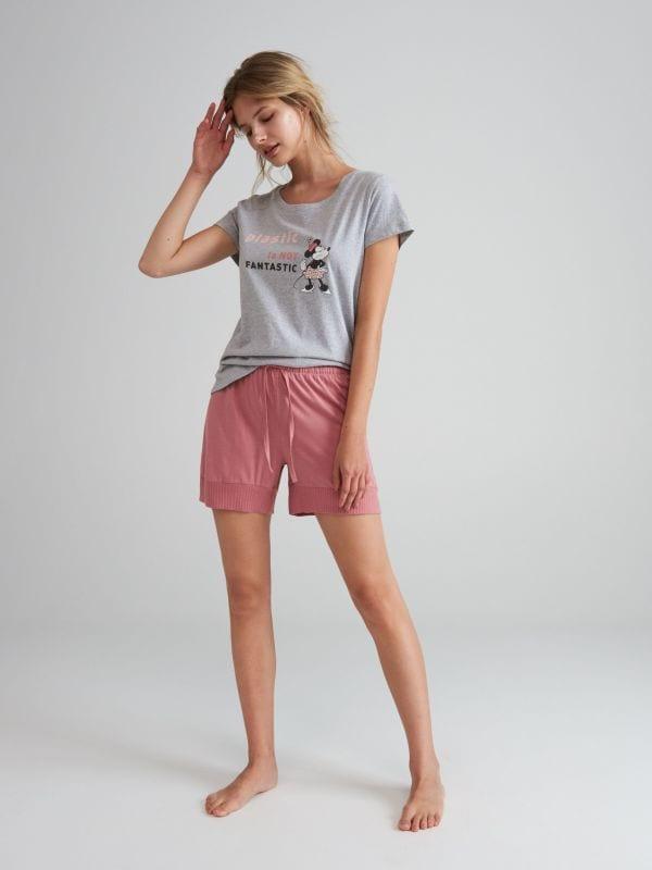 f6d63e19bc5437 Bawełniana koszula nocna · Piżama Disney - szary - WN768-09X - RESERVED