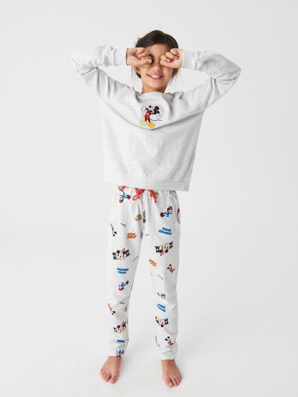 c033b335ba585b Piżama Mickey Mouse · Piżama Mickey Mouse - szary - WR807-09M - RESERVED